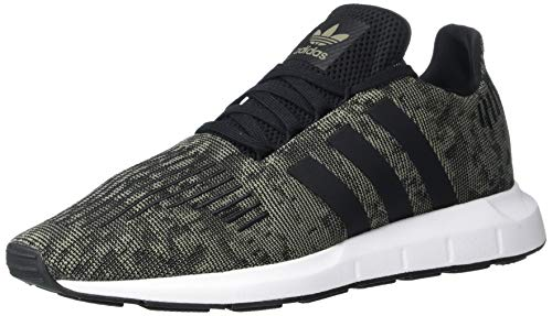 adidas Originals Men's Swift Running Shoe, Trace Cargo/Black/White, 8.5 M US