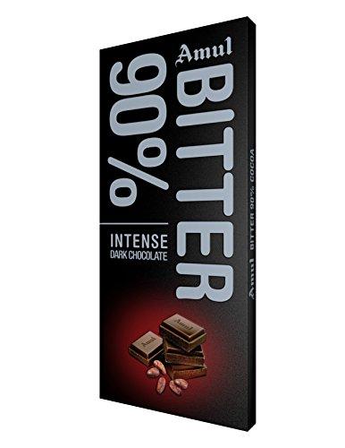 Amul Bitter 90% Chocolate