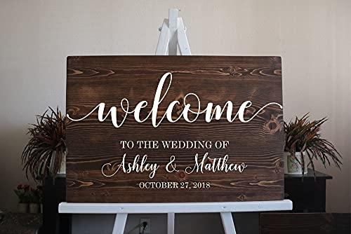 Adesivo in vinile Decalcomanie da tavolo per matrimoni Segno da pista da ballo Testi personalizzati Vinile murale Matrimonio Dance Quote Art Decal 49x85cm
