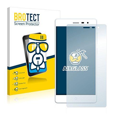 BROTECT Panzerglas Schutzfolie kompatibel mit Elephone Trunk - 9H Extrem Kratzfest, Anti-Fingerprint, Ultra-Transparent