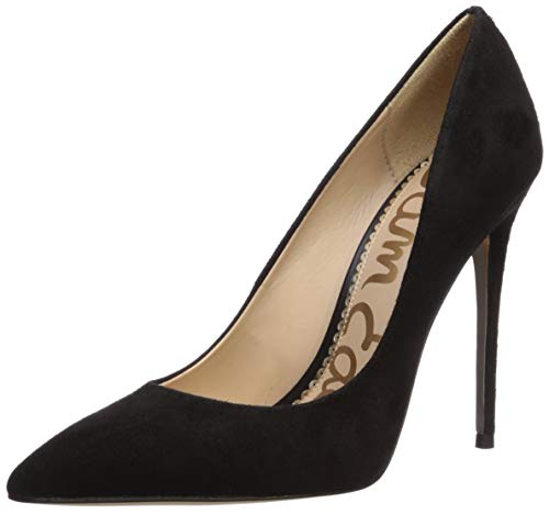 Sam Edelman Women's Danna Pump, Black Suede, 8 Medium US