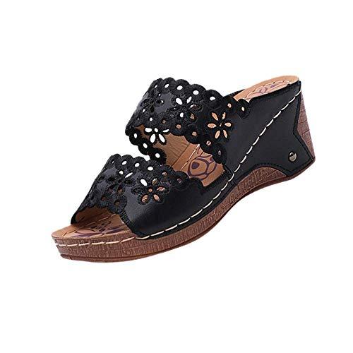 Hausschuhe Unten Alltägliche Drag Pantolette Sommer Beach Schuhe Sandalen für Damen Herren