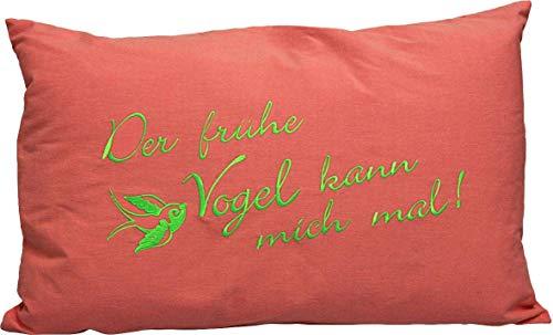 Fan-O-menal kussen sierkussen 55cm cadeau van de vrouw vogel KAN MAL - 11766 - knuffelkussen