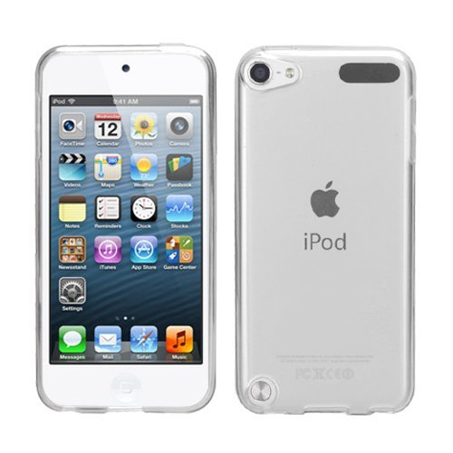 NOVAGO Compatible con Apple iPod Touch 5 Touch 6 Touch 7 Funda Gel de Silicona irrompible Sólido (Transparente)