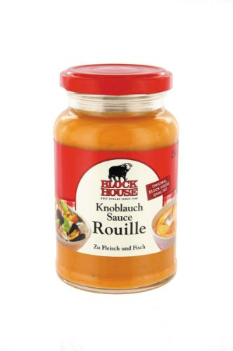 Block House Sauce Knoblauch Rouille - 1 x 250 ml