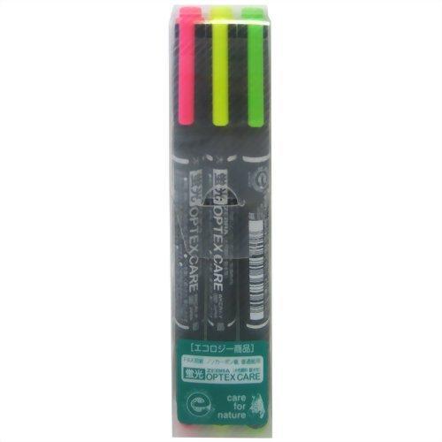蛍光オプテックスケア【3色セット】 WKCR1-3C