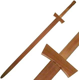 BladesUSA 1607 Martial Art Hardwood Wood Long Sword Training Equipment 48-Inch
