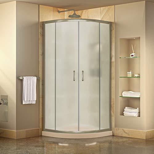 DreamLine DL-6703-01FR Prime Shower Enclosure And Base, 38″ W x 38″ D, Chrome