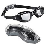BMTLFG Gafas de natación para adultos y niños, antivaho, protección...