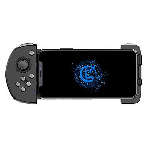 GameSir G6 Controlador de Juegos Móviles, Touchroller Bluetooth con Una Sola Mano con Interruptores Micros, Combinación de Control de Gamepad y Pantalla Táctil de Smartphone con Mano para iOS, Android