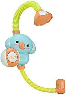 Children Bath Toy Cartoon Elephant Baby Bath Toy Bathtub Shower Nozzle Suction Cup Rotating Spray Faucet Bath Toy