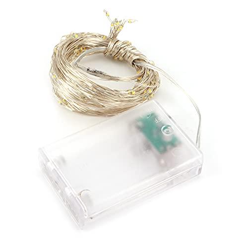 Fio leve, alimentado por bateria Fio de cobre de luz de destaque 20LED para Festival for Living Woom para casamento