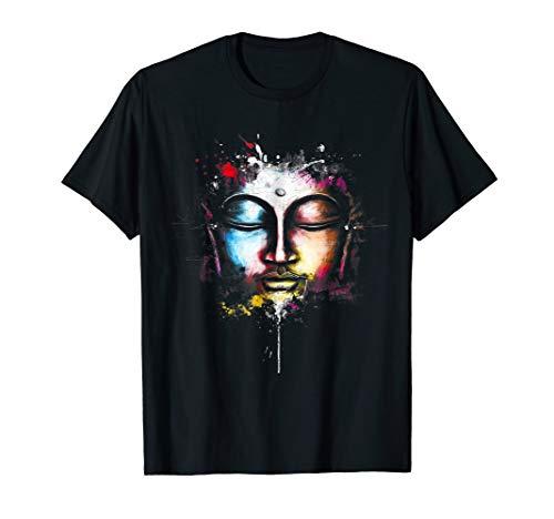 Buddha dimond lotus Zen Yoga T-shirts