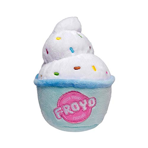 Fuzzyard Frozen Yogurt FroYo Dog Plush SqueakToy