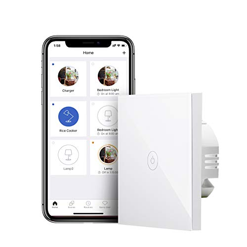Meross Smart Lichtschalter WLAN Wandschalter