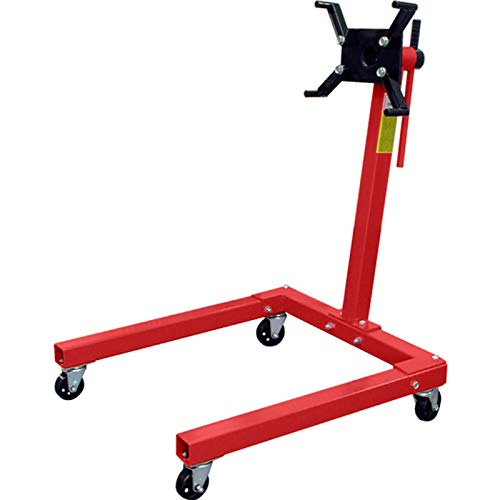 Steel Rotating Engine Stand Hoist (1,500 lb Capacity)