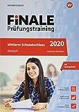 FiNALE Prüfungstraining Mittlerer Schulabschluss NRW Deutsch 2020