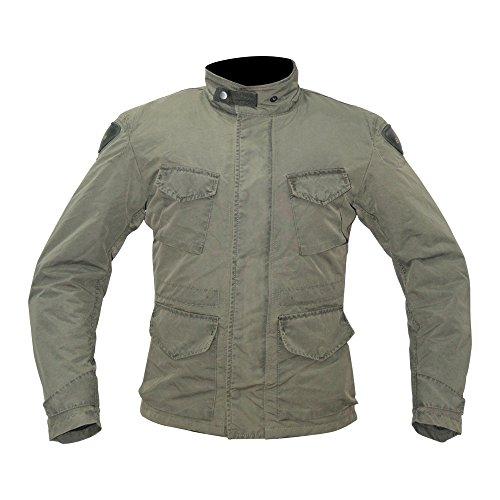 Bela Chaqueta de moto Hunter Chaquetas aprobadas CE para hombres (S, MUD)