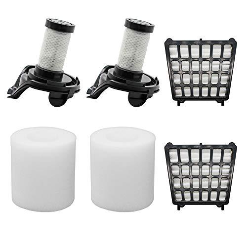 Lemige Replacement filters for Shark Flex DuoClean Corded Ultra-Light Vacuum HV390, HV391, HV392, 2 HEPA Filters + 2 Foam Filters+ 2 Pre-Motor Filters