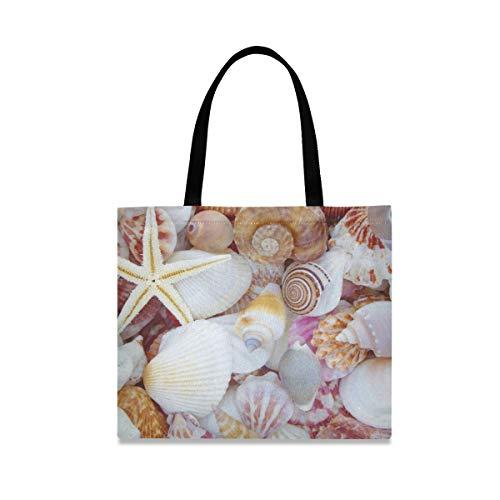 XiangHeFu Halter-Beutel-Taschen-Seashell-Strand-Ozean-großer Reißverschluss-Briefpapier-Bleistift-Kasten Qualität
