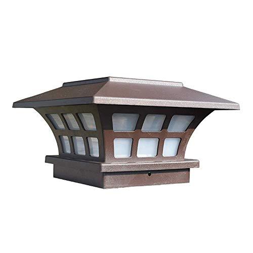 WANQINV Outdoor Waterproof Solar Lantern, Family Villa Landscape Lamp, Floor Lawn Lights, Garden Creative Lantern,auto On/off, For Sidewalks, Lawns, Courtyards And Driveways
