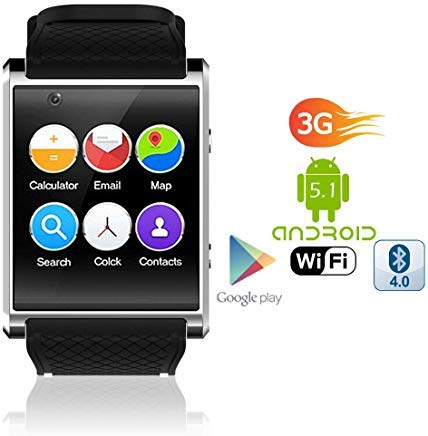 Android SmartWatch 1 54 inch Display QuadCore