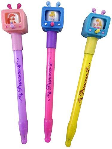 6Stück–Disney Princess TV Stifte–Disney Princess Stationäre–Party Tasche Füllstoffe.