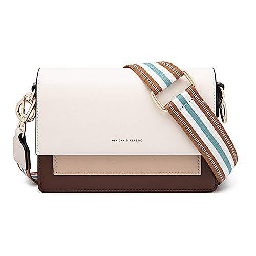 Nieuwe kleine tas mode brede schouderband messenger bag ins wilde een schouder kleine vierkante tas voor vrouwen