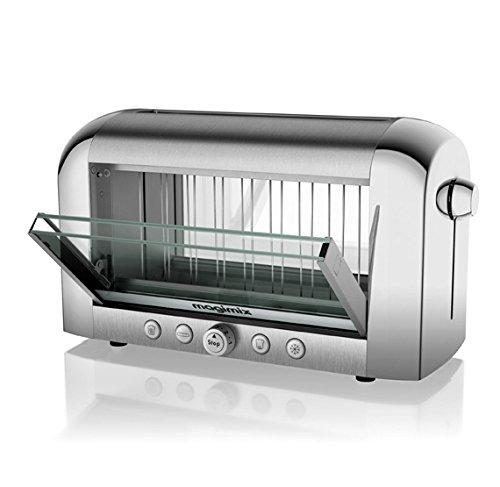 Magimix 11538 Toaster, Kunststoff, Chrom
