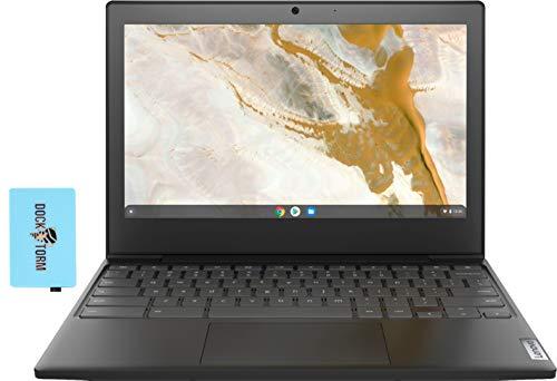"Lenovo Chromebook 3 11 Everyday Value Laptop (AMD A6-9220C 2-Core, 4GB RAM, 32GB SSD, AMD Radeon Graphics, 11.6"" HD (1366x768), WiFi, Bluetooth, Webcam, 2xUSB 3.1, SD Card, Chrome OS) with Hub"