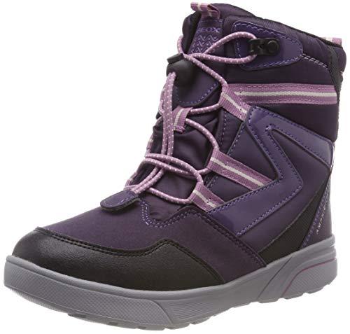 Geox Mädchen J SVEGGEN Girl B ABX Schneestiefel, Violett (Violet/Lavender Cn88q), 31 EU