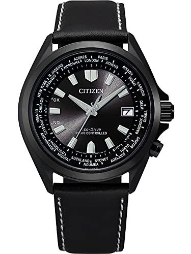 Citizen Eco-Drive Herren-Funkuhr Schwarz CB0225-14E