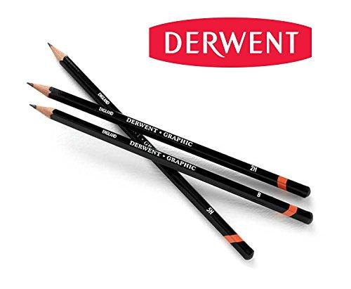 DERWENT Graphic Graphite Drawing Pencils