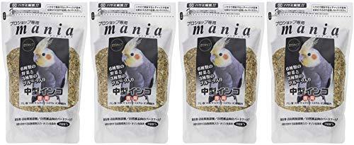 Mania Professional Shop Medium Parakeet 3.8 fl oz (1 L) x 4 Bags