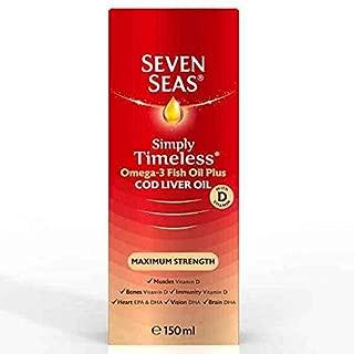 Seven Seas Pure Cod Liver Oil Extra High Strength 150ml