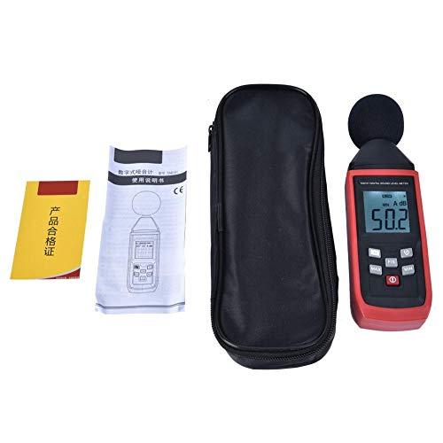 TA8151 - Medidor digital Decibel dB SPLMeter Reader Medición del volumen de ruido, medida 30 – 130 dB