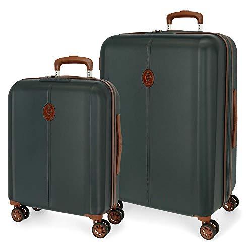 El Pesta Ocuri kofferset, groen, 55 – 70 cm