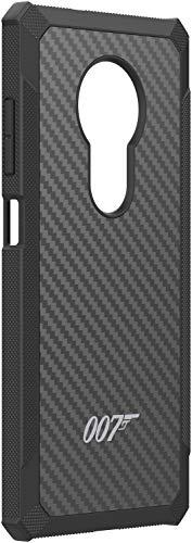 Nokia 007 Special Edition Kevlar Hülle (passend für Nokia 6.2 und 7.2) schwarz