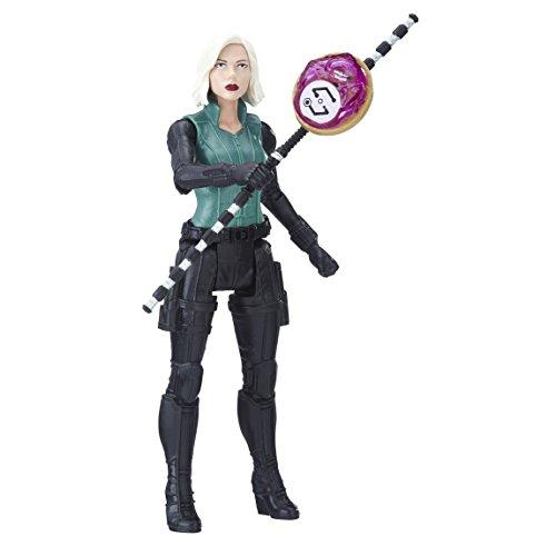 Avengers E1411EL2 War Black Widow Figur mit Unendlichkeitsstein