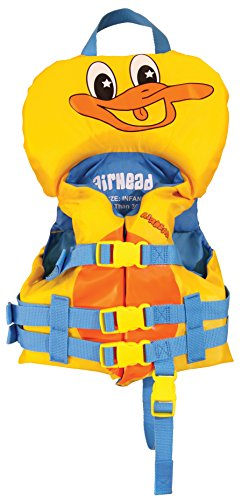 Product Image of the Airhead DUCKIE Infant Vest, yellow (10008-01-A-YW)