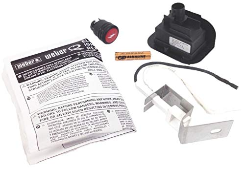 Weber 80475 Gas Grill Q120 Q220 Replacement Electronic Igniter Kit