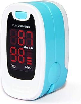 CONTEC LED CMS50M Pulse Oximeter,SpO2 and PR Value Waveform Blood Oxygen Neck/Wrist Cord