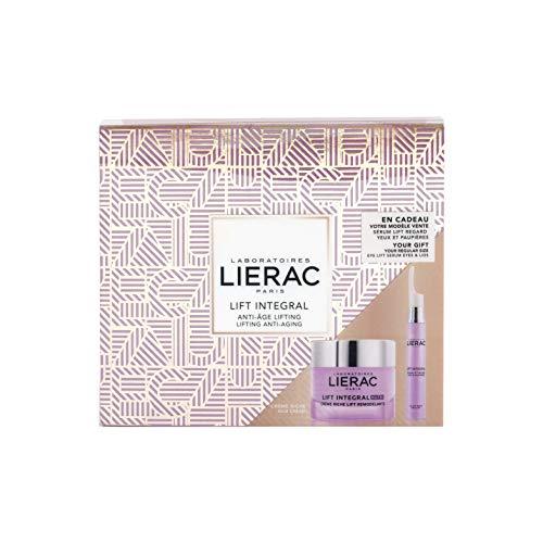 Lierac Lift Integral Cofanetto Regalo con Crema Nutri Antirughe Liftante 50 ml e Siero Contorno Occhi & Palpebre 15 ml