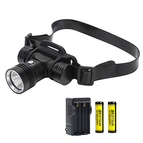 of hunting head lights dec 2021 theres one clear winner XLENTGEN Super Bright Dive Lights Scuba Diving Headlight, IPX8 Waterproof Dive Headlamp, 3 Lighting Modes, 2000 Lumens Underwater Safety Light with Rechargeable Battery