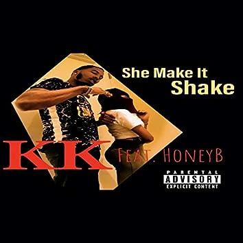 She make it shake (feat. Honey B)