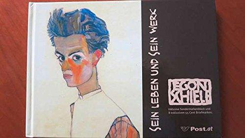 Egon Schiele - sein Leben und sein Werk: Inklusive Sondermarkenblock und 8 exklusiven 55 Cent Briefmarken (Marken.Bücher / Bücher mit frankaturgültigen österreichischen Briefmarken)