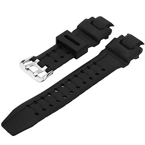 Correa de reloj de cuero, correa de reloj resistente al desgaste, negra GA-1000/1100 para G SHOCK