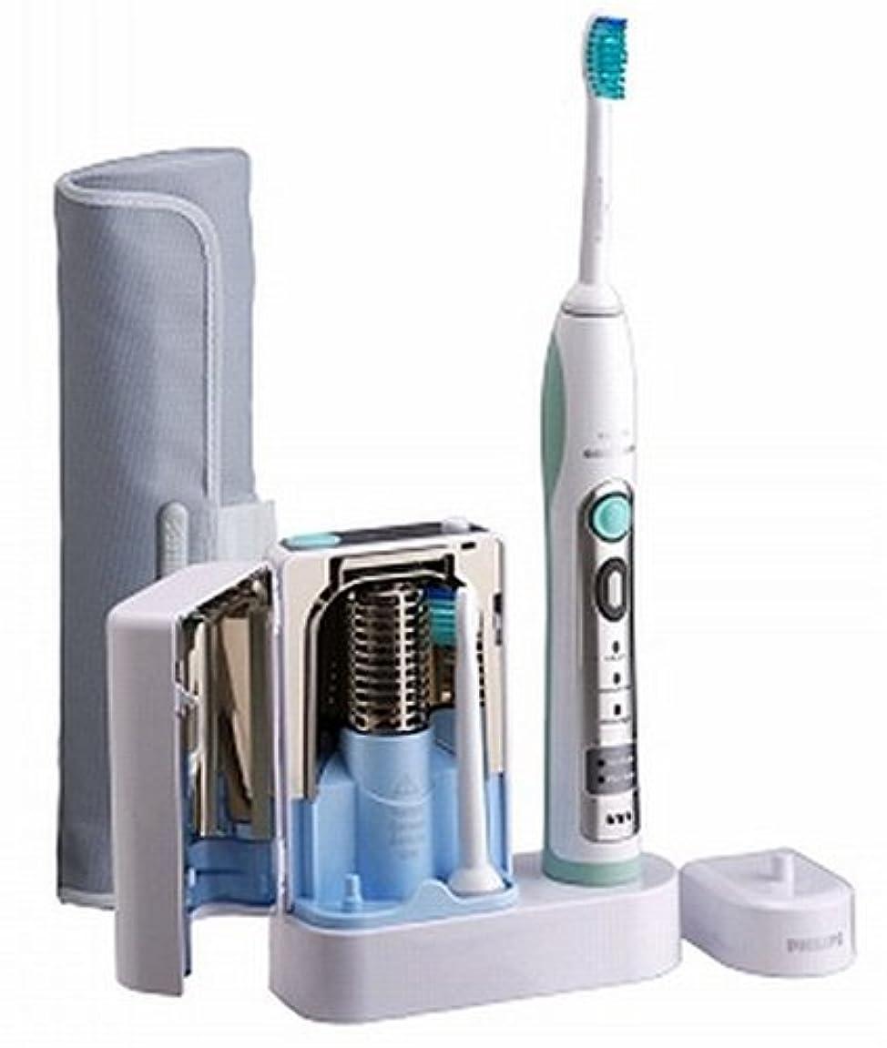 重なる突撃カードPHILIPS sonicare フレックスケアー 除菌器付き 電動歯ブラシ HX6912/10
