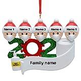 Taianle 2020 - Juego de decoración navideña para 2 – 7 miembros de la familia superviviente