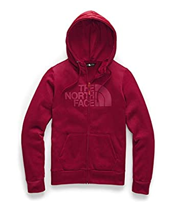 The North Face Women's Fave Half Dome Full Zip 2.2 Cardinal Red Heather